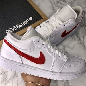 Jordan 1 low - Red White